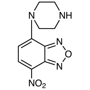 NBD-PZ (=4-Nitro-7-piperazino-2,1,3-benzoxadiazole) [for HPLC Labeling]